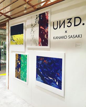 UN3D. × KANAKO SASAKI