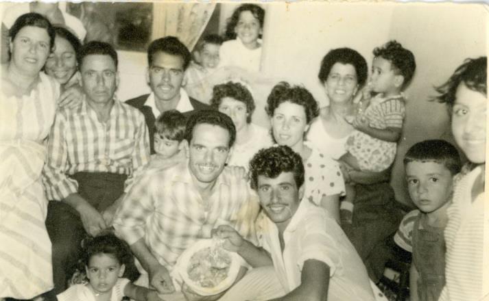 אלבום משפחת שמעוני, קריית שמונה (תאריך לא ידוע)