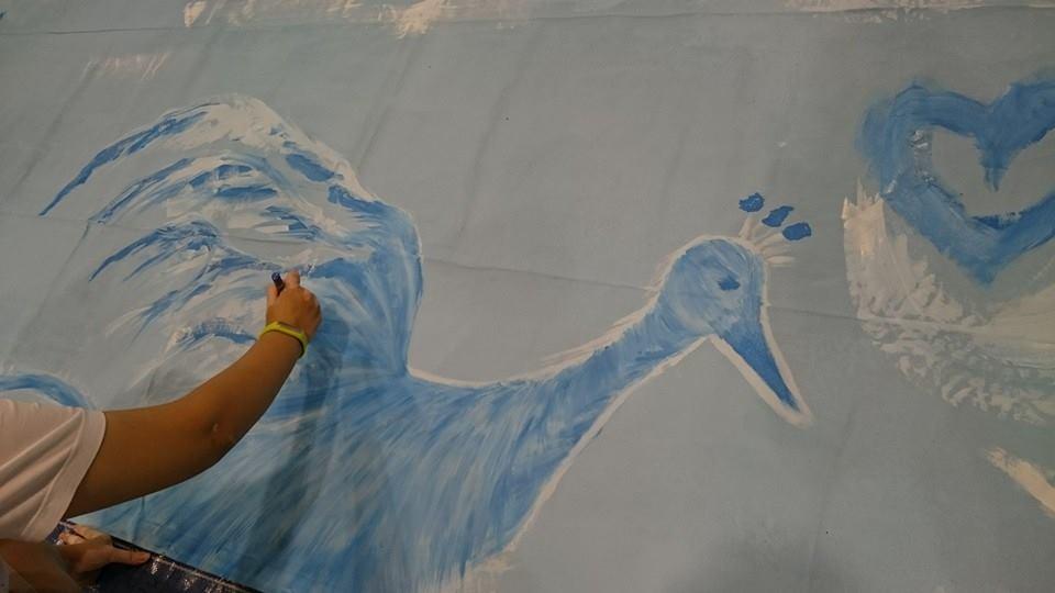 SG 50 painting - Phoenix