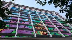 SG 50 HDB Flat Mural Painting - 01