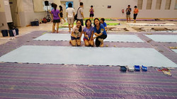 SG 50 painting - Zacq and team