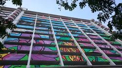 SG 50 HDB Flat Mural Painting - 04