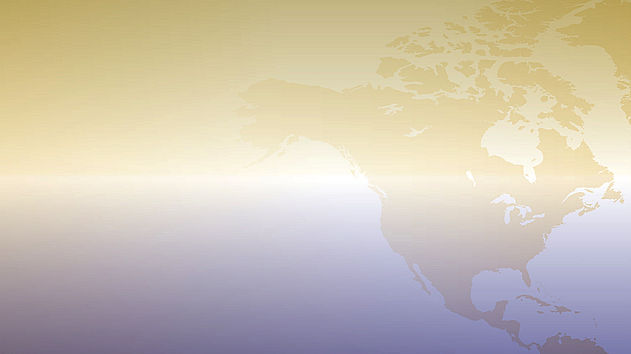 North America(gold overlay) - (enhanced)