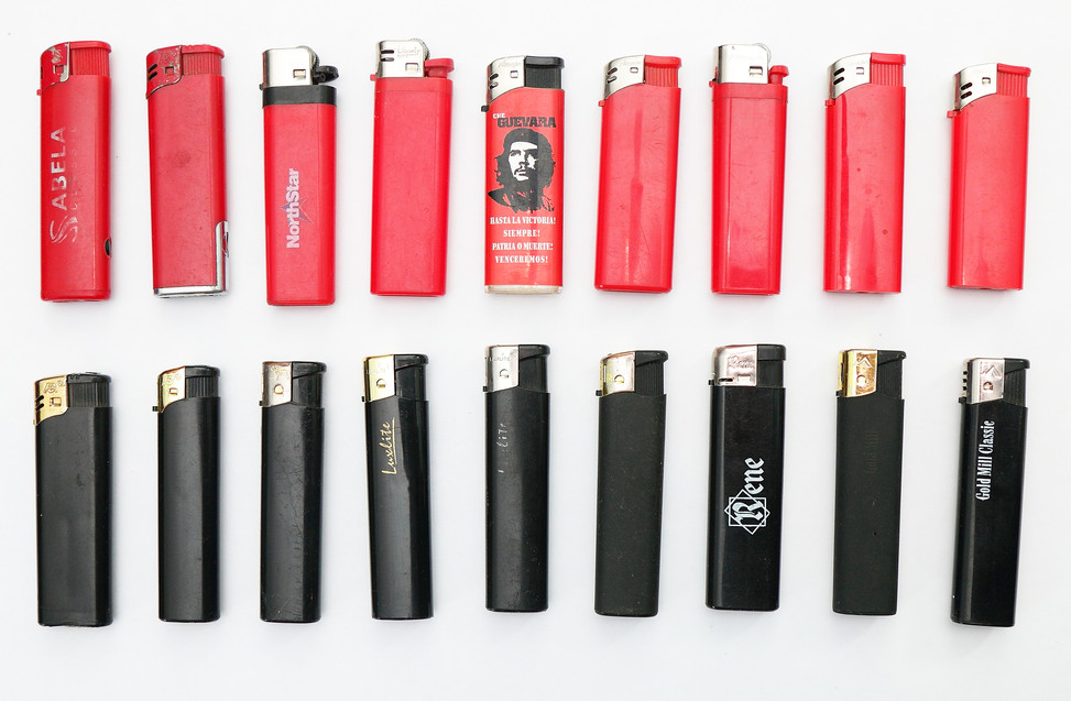 Коллекция зажигалок