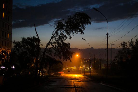 Рефлексия по шторму