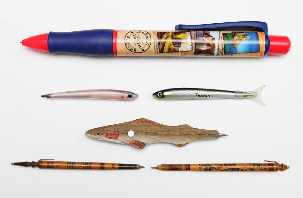 Ручки с байкальской тематикой