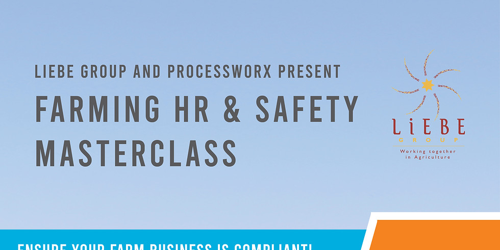 Farming HR & Safety Masterclass