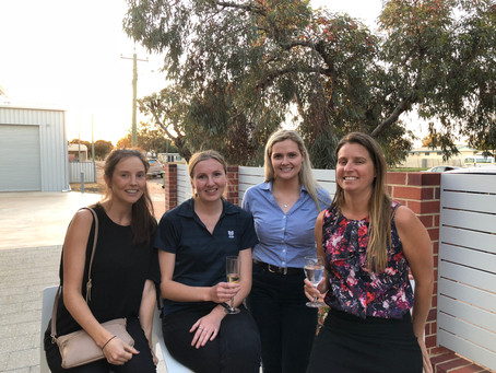 Women's Committee celebrate the end of a successful year