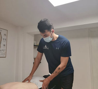 Back assessment and neck assessment - lower back pain and neck stiffness
