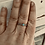 Thumbnail: Turquoise and Marcasite Stackble ring ONLY ONE IN STOCK SIZE 11