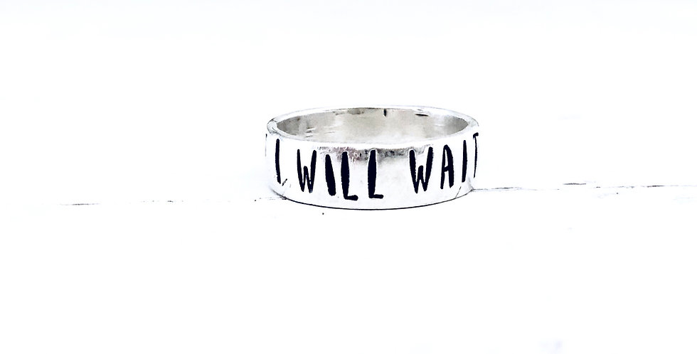 I Will Wait Purity Ring • 6mm
