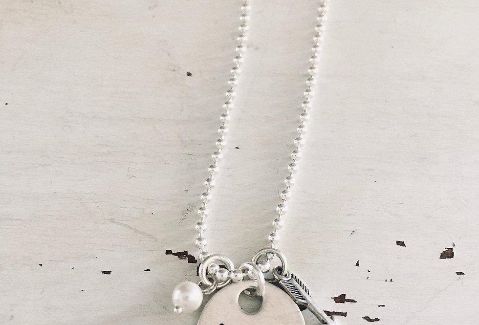Brave Slide Necklace