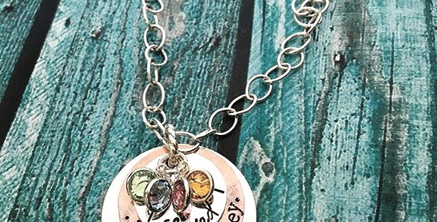Blessed Nana Personalized Necklace