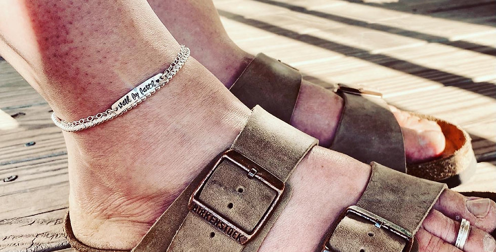 Personalized Anklet Set