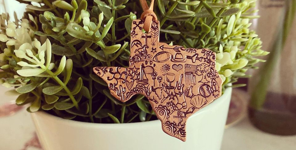 Our Texas Ornament
