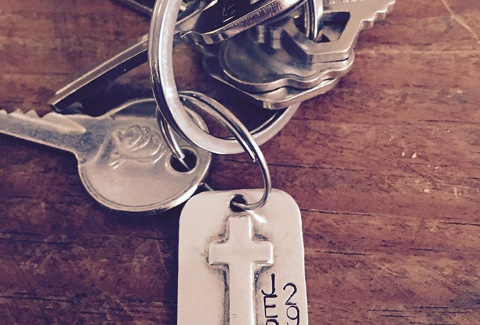 Warrior Dad Key Chain