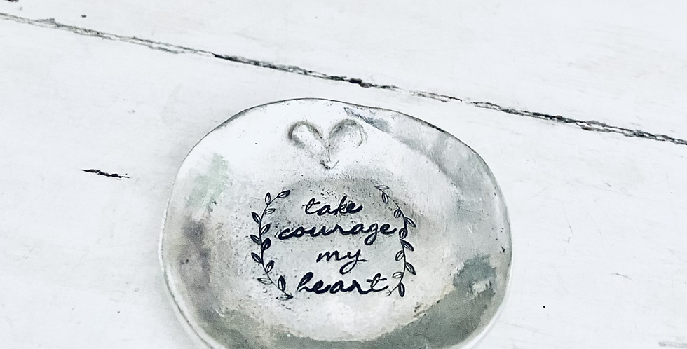 Well Hello There Beautiful Ring Dish (ready to ship)