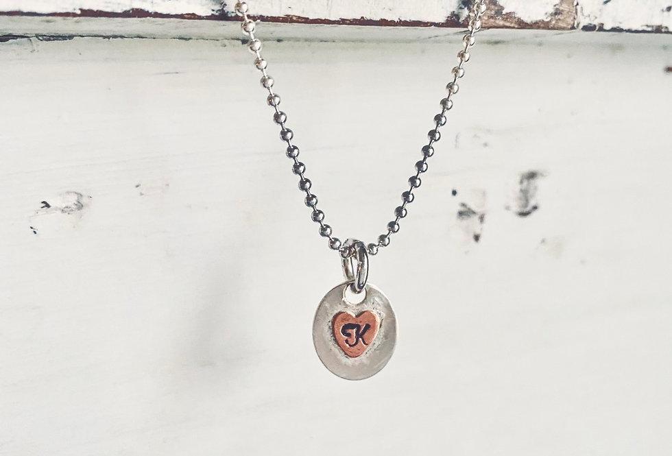 Tiny Treasure Heart Necklace