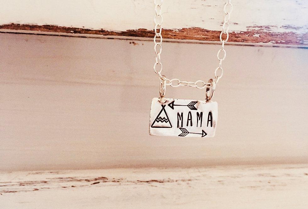 Tribal Mama Slide Necklace