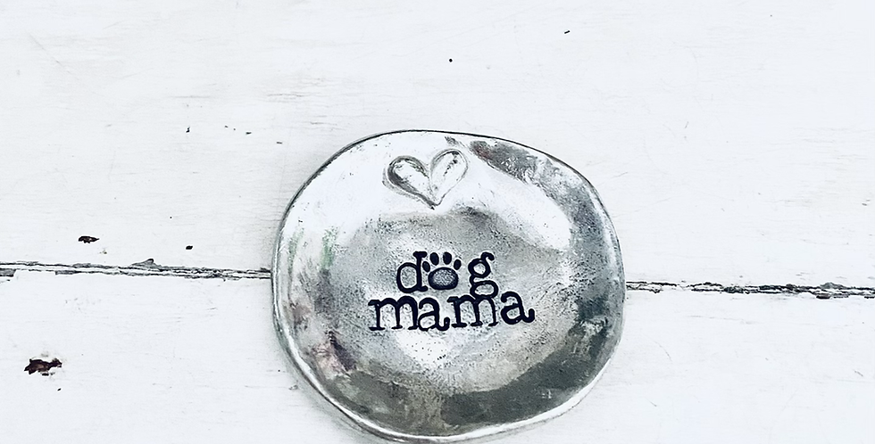 Dog Mama Ring Dish (ready to ship)