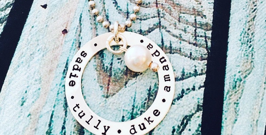 Her Heart Goes Full Circle Necklace