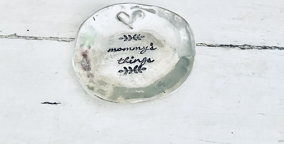 Mommy's Things Ring Dish (ready to ship)