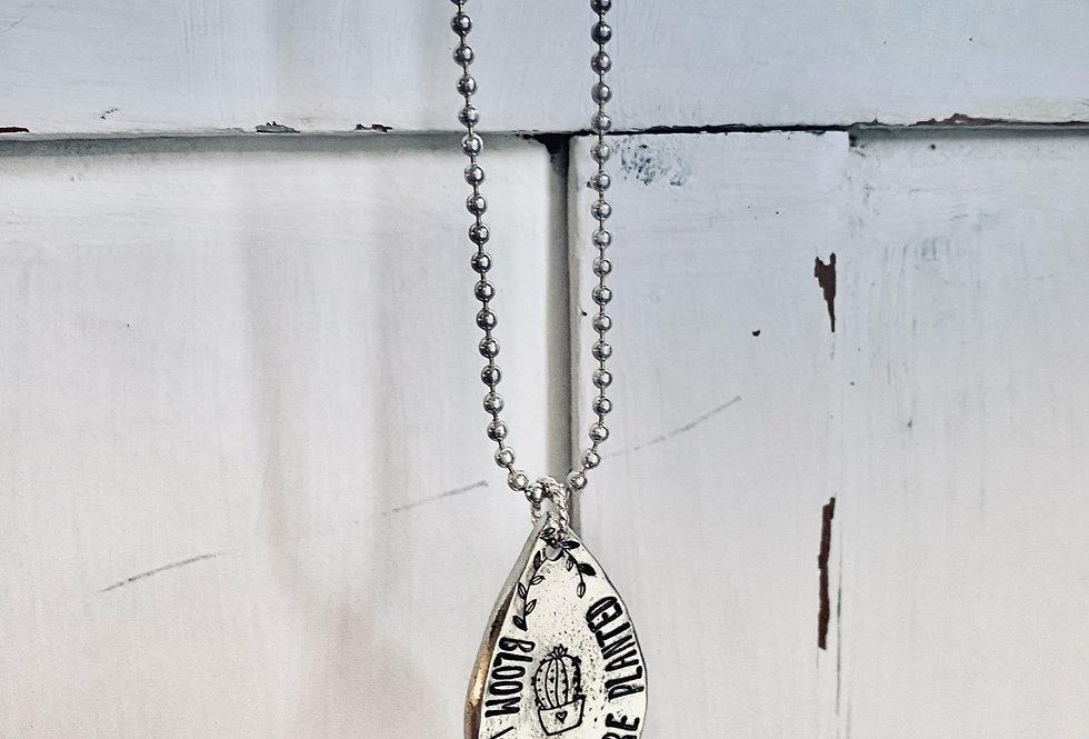Bloom Slide Necklace