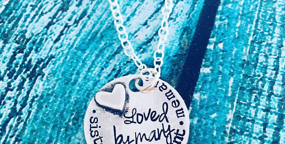 Loved by Many Pendant Necklace