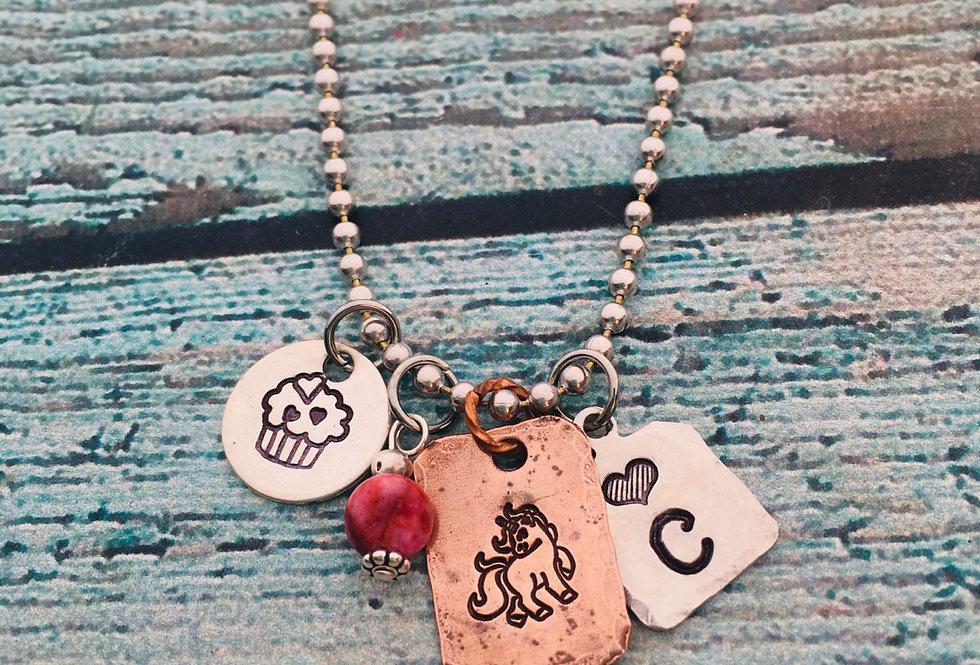 Designer's Choice Tiny Tag Necklace