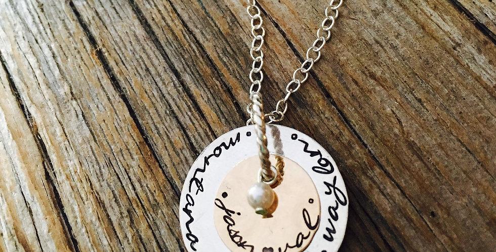 Cherished Personalized Necklace