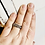 Thumbnail: Simple Bead Stacking Ring Set Size 8