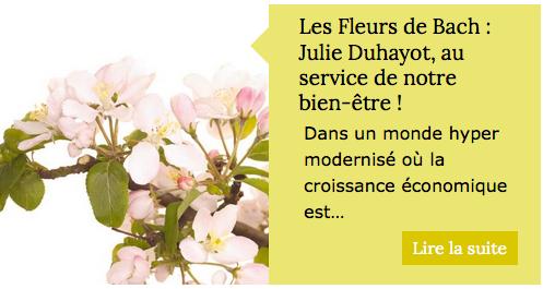Julie Duhayot - Conseillère en Fleurs de Bach