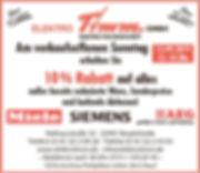 Anzeige Verkaufsoffener Sonntag 15.09.20