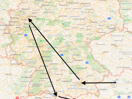 Update Deutschland Österreich Tour!