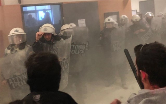 O ΔΣΑ καταδικάζει τη ρίψη δακρυγόνων στο Ειρηνοδικείο και αφήνει έκθετους όσους τόλμησαν να αμφισβητ