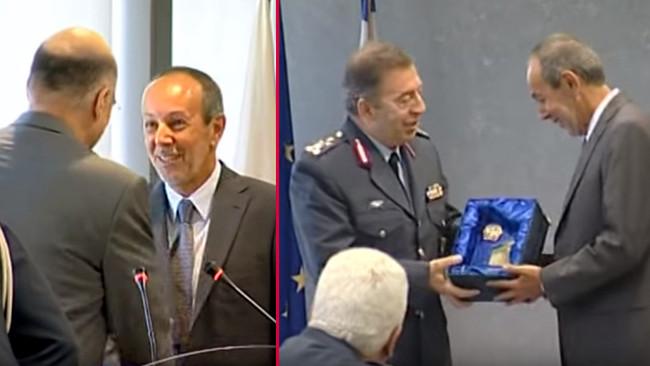 Σάκοι με κοκαΐνη σε πλοίο έλληνα εφοπλιστή που είχε... βραβεύσει ο Νίκος Δένδιας «για την ...προσφορ
