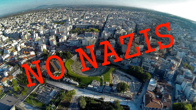 Δήμος Λάρισας: Έχουμε θρηνήσει θύματα του ναζισμού, δεν υπάρχει χώρος για κασιδιάρηδες
