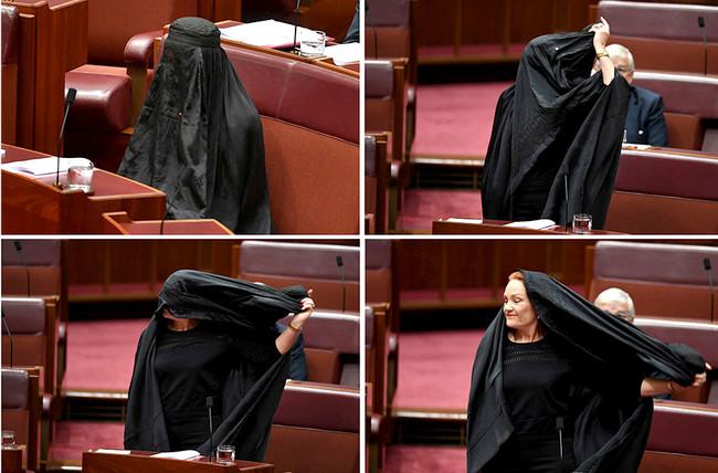 Πρωτοφανή ακροδεξιά καραγκιοζιλίκια στο Κοινοβούλιο της Αυστραλίας