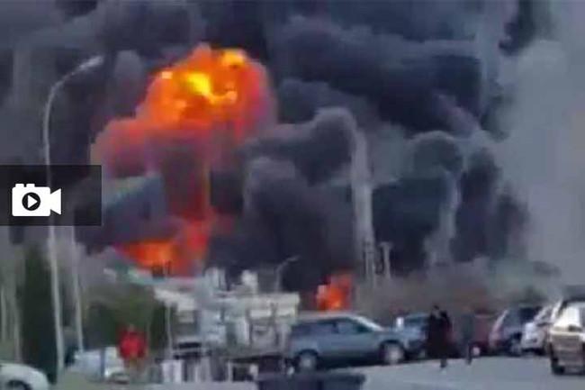 Iσχυρή έκρηξη σε πυρηνικό εργοστάσιο της βόρειας Γαλλίας - To Video της έκρηξης