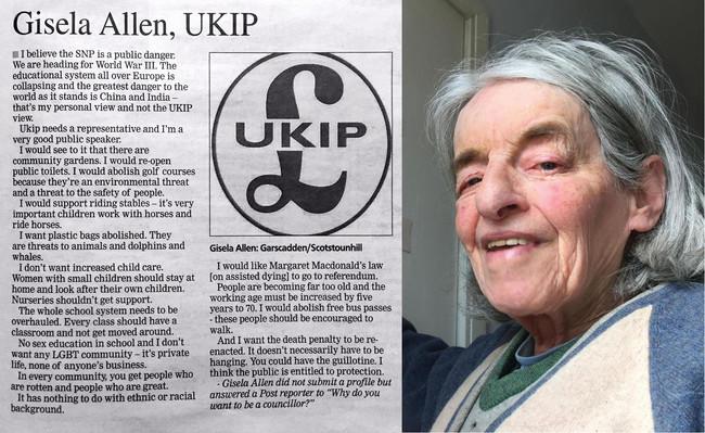 Γκιλοτίνα, ευνουχισμός, ευθανασία και στο βάθος ...αγάπη για το περιβάλλον από μέλος του UKIP