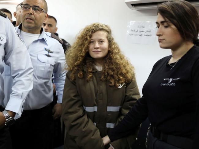 Προφυλακισμένη επ' αόριστον η 16χρονη Ταμίμι μετά από απόφαση του ισραηλινού στρατοδίκη