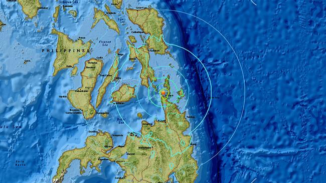 Ισχυρός σεισμός 6,7 Ρίχτερ στις Φιλιππίνες