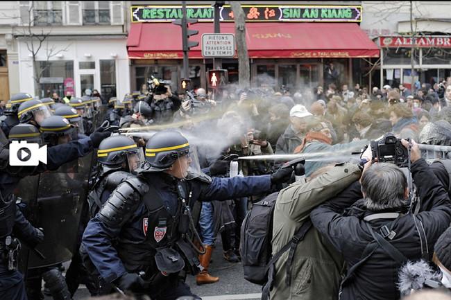 Πεδίο μάχης το Παρίσι για τον βιασμό του νεαρού  «Τheo L» από ομάδα αστυνομικών
