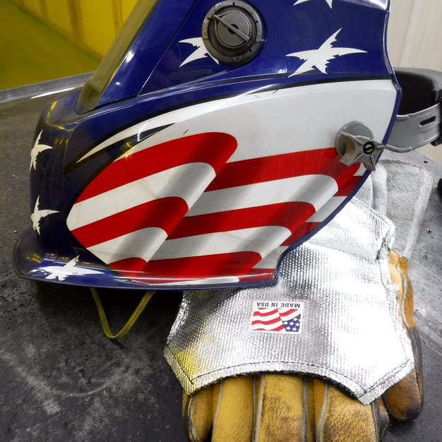 Proud to be an American building our products in the USA