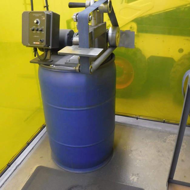 Our KMG belt grinder.