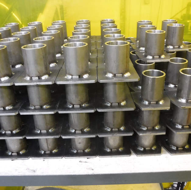 We strive to keep our welds robust and uniform, to stand up to years of hard use.
