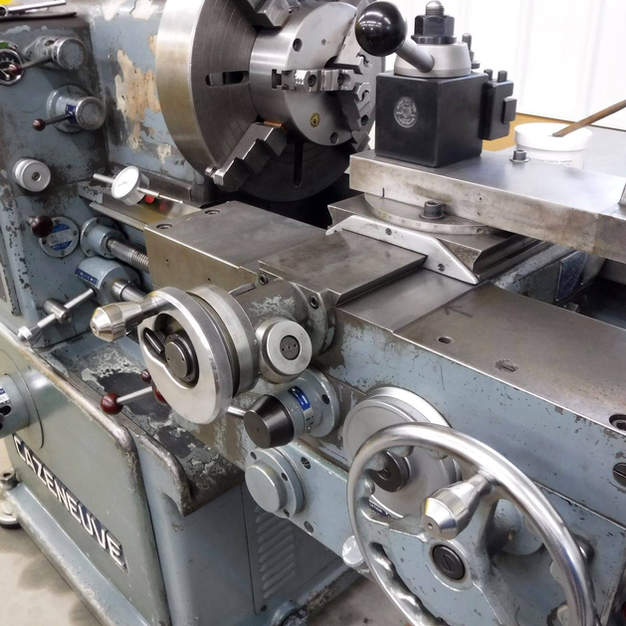 This Cazeneuve lathe is a great machine, they literally do not make them like this anymore.