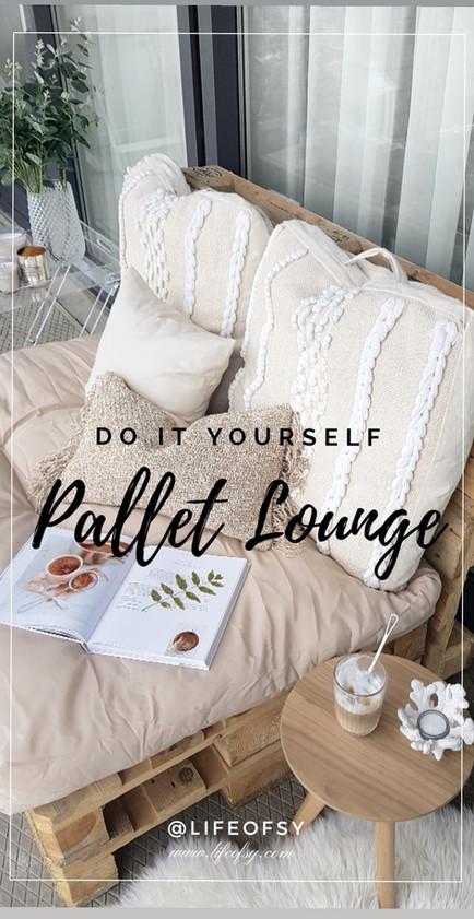 DIY | Pallet Lounge