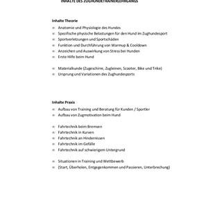 Hundling-ZuHu-Trainer Teilnahmebestätigu