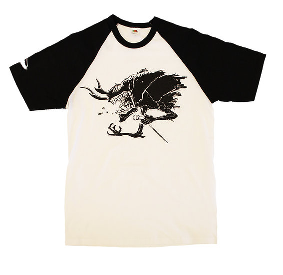 "T-Shirt ""Psycho Bug Baseball"""